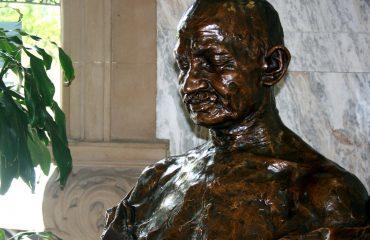 Durban Ghandi buste