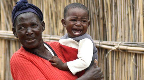 Impalila dorp - Ouma en baba