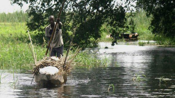 Okavango mokoro transport