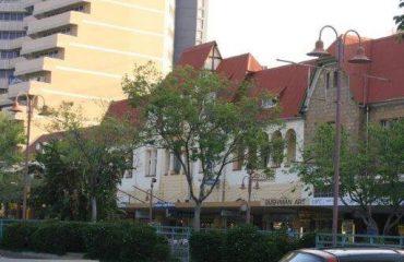 Windhoek - centrum oud en nieuw