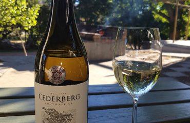 Cederberg wijn en glas